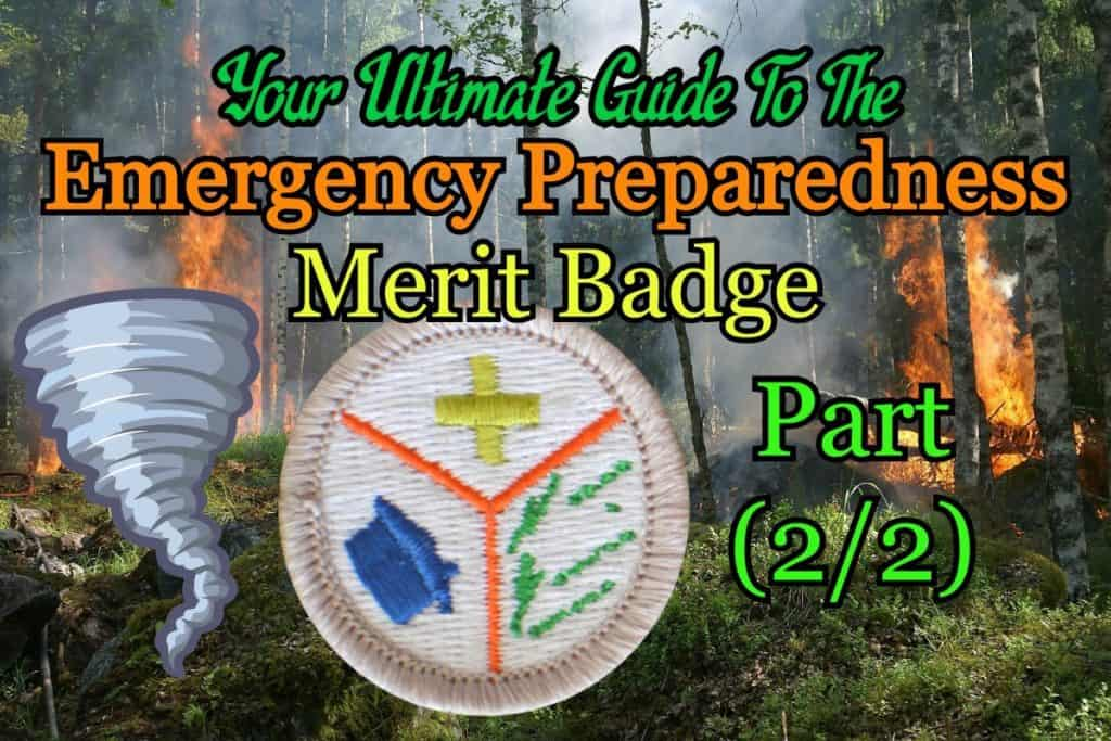 Emergency Preparedness Merit Badge Answers A Scoutsmarts Guide